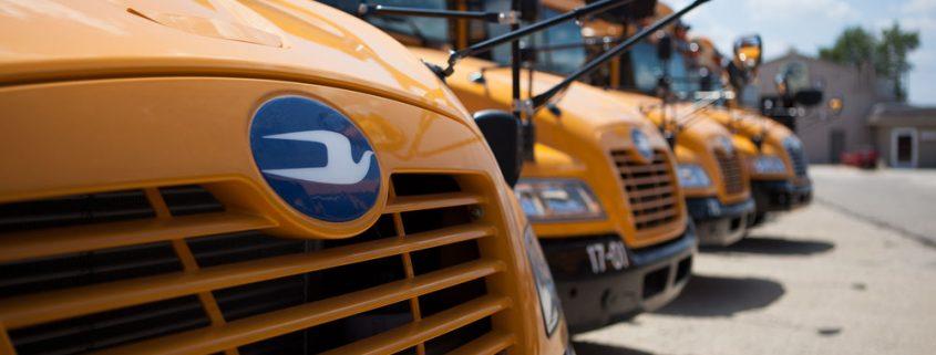 Bluebird Bus - Front