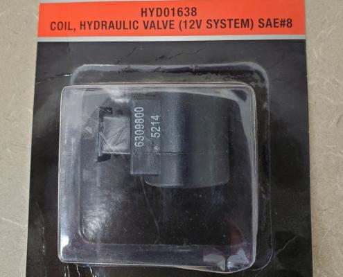 Snow Plow Coil Hydraulic Valve