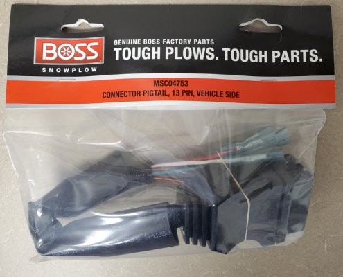 Snow Plow Connector Pigtail 13-Pin